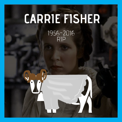 Carrie fisher rip
