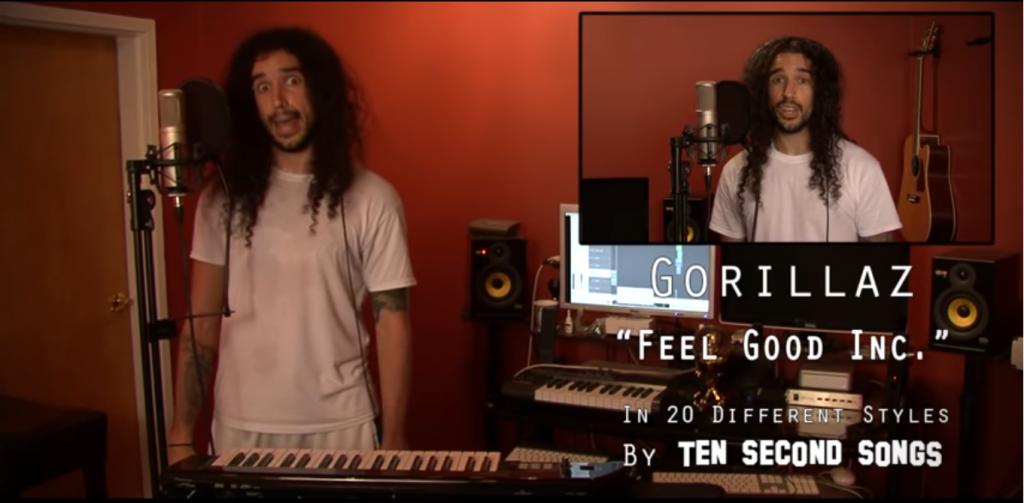 10 seconds sog captura de pantalla Fell good song