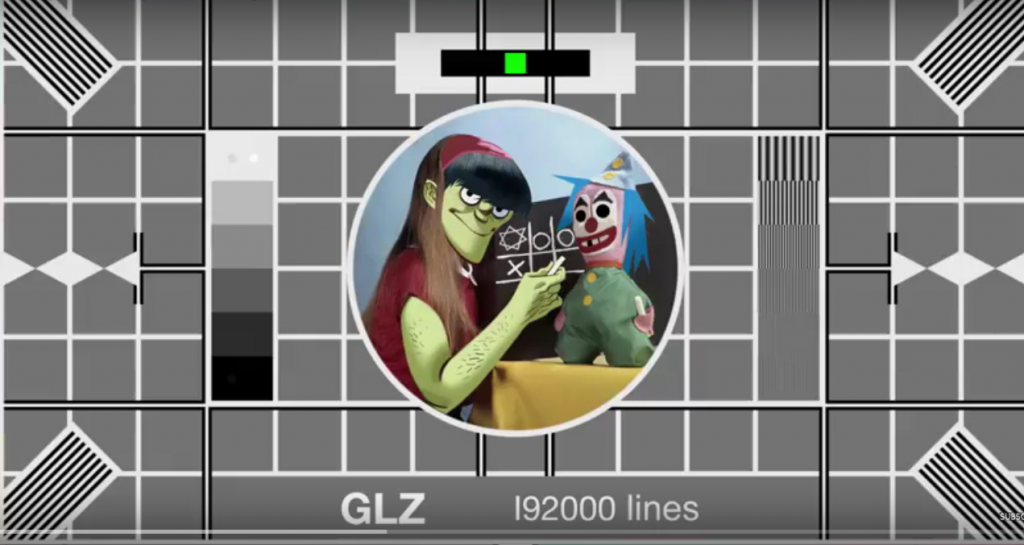 Inicio del video de Gorillaz Hallelujah money