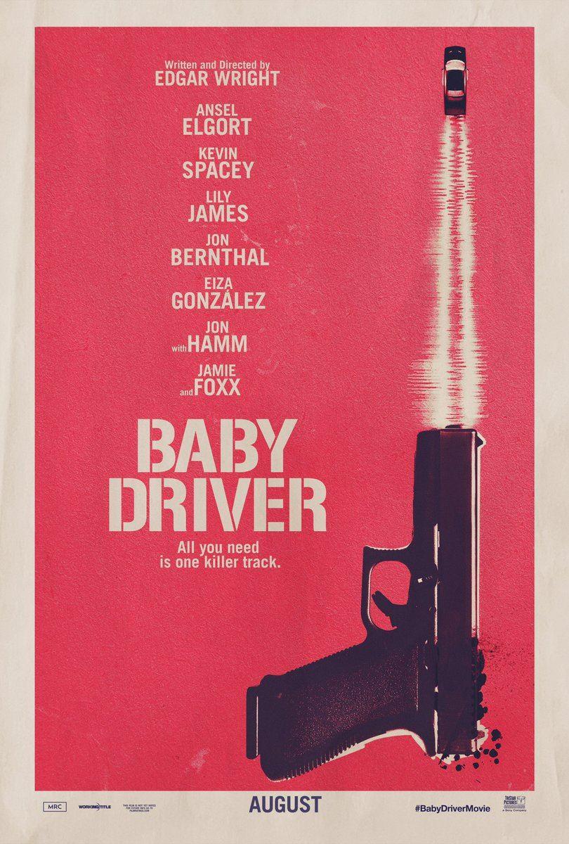Poster de la película Baby Driver