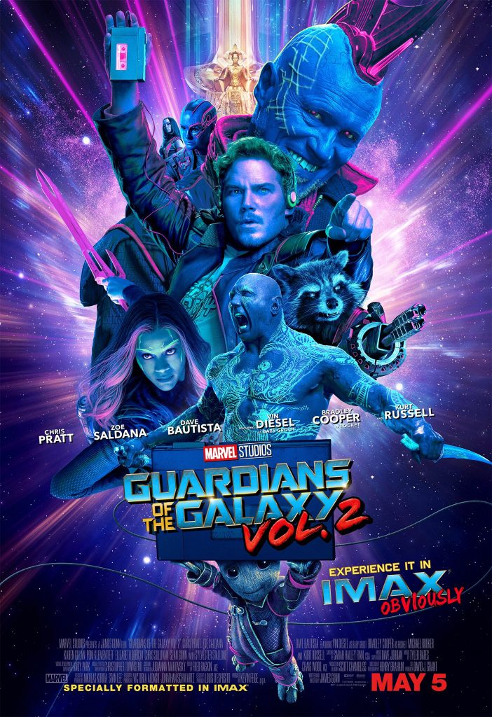 Guardians of the Galaxy Vol.2 Imax poster