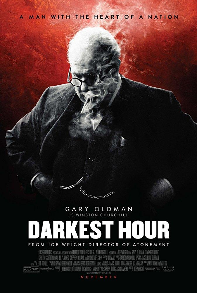 poster de las horas más oscuras