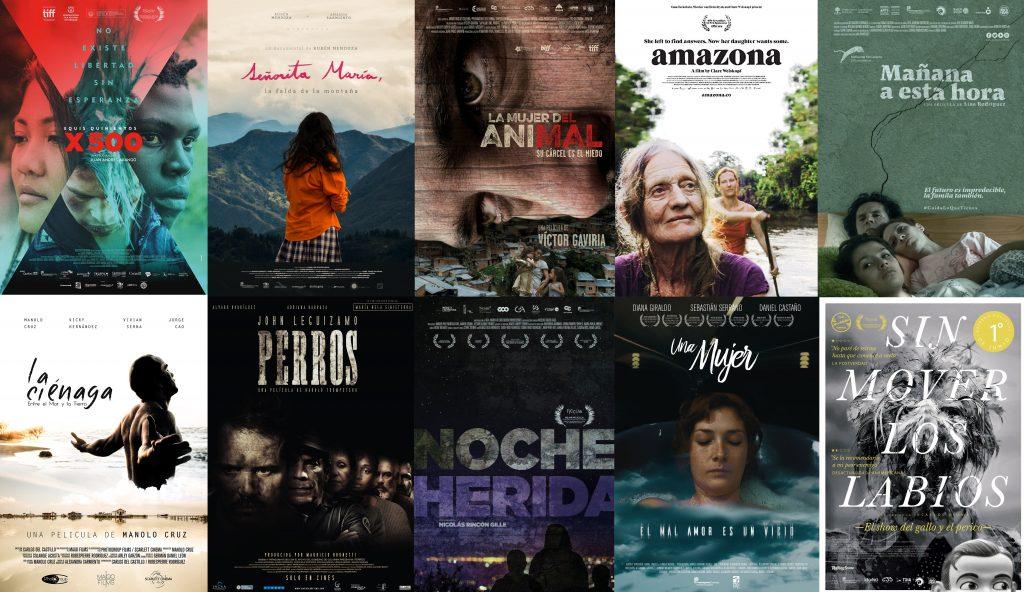 posters de las 10 mejores Películas Colombianas en 2017