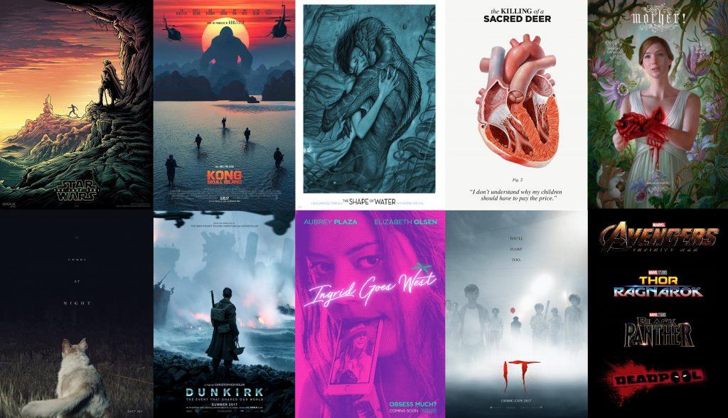 posters de 10 trailers en 2017