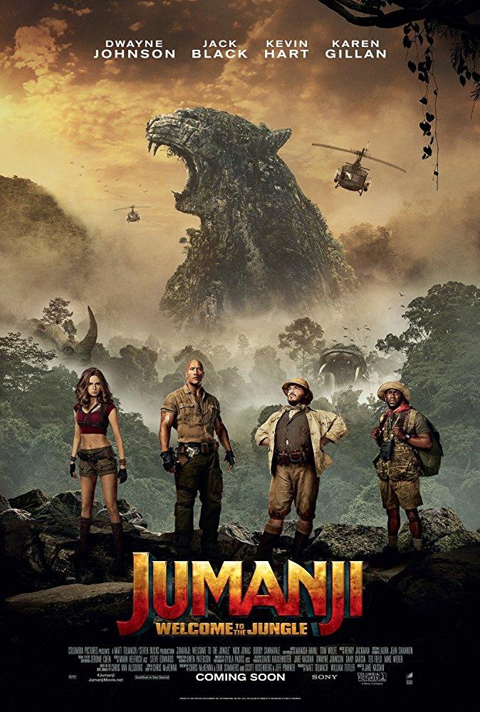 poster jumanji: en la jungla