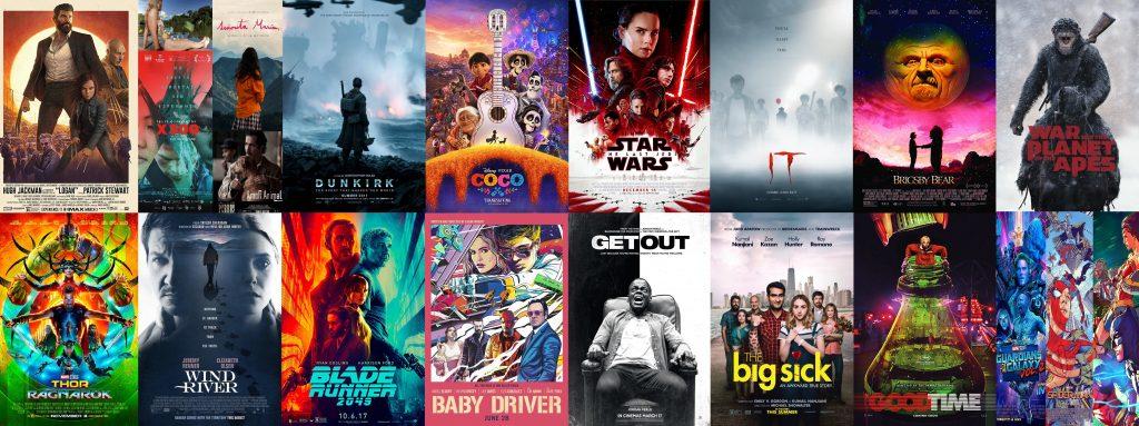 posters de nuestras películas preferidas este 2017