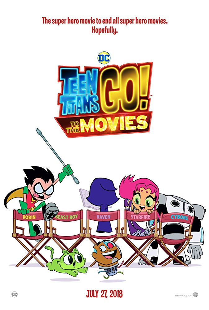 poster de teen titans go! to the movies