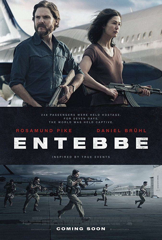 poster Rescate en Entebbe