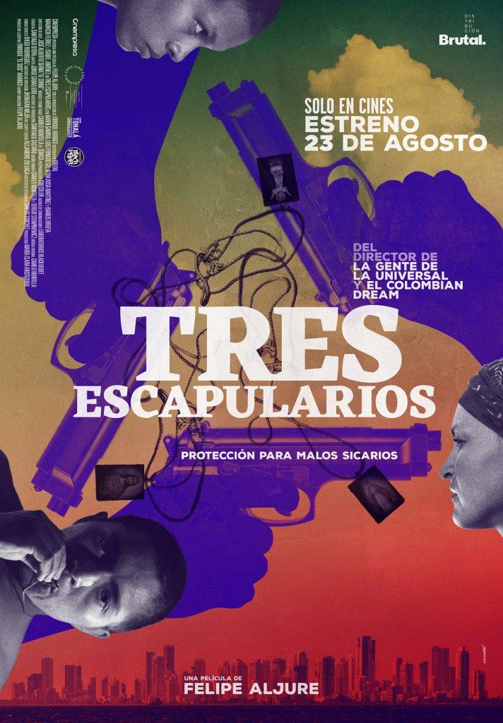 Poster de tres escapularios
