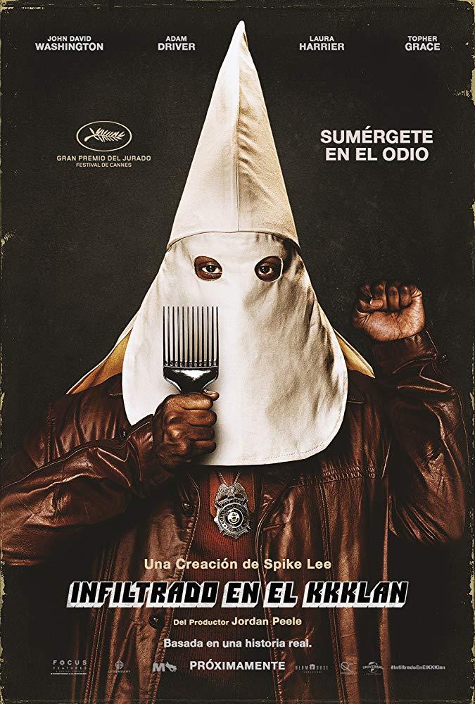Poster de El Infiltrado del KKKlan