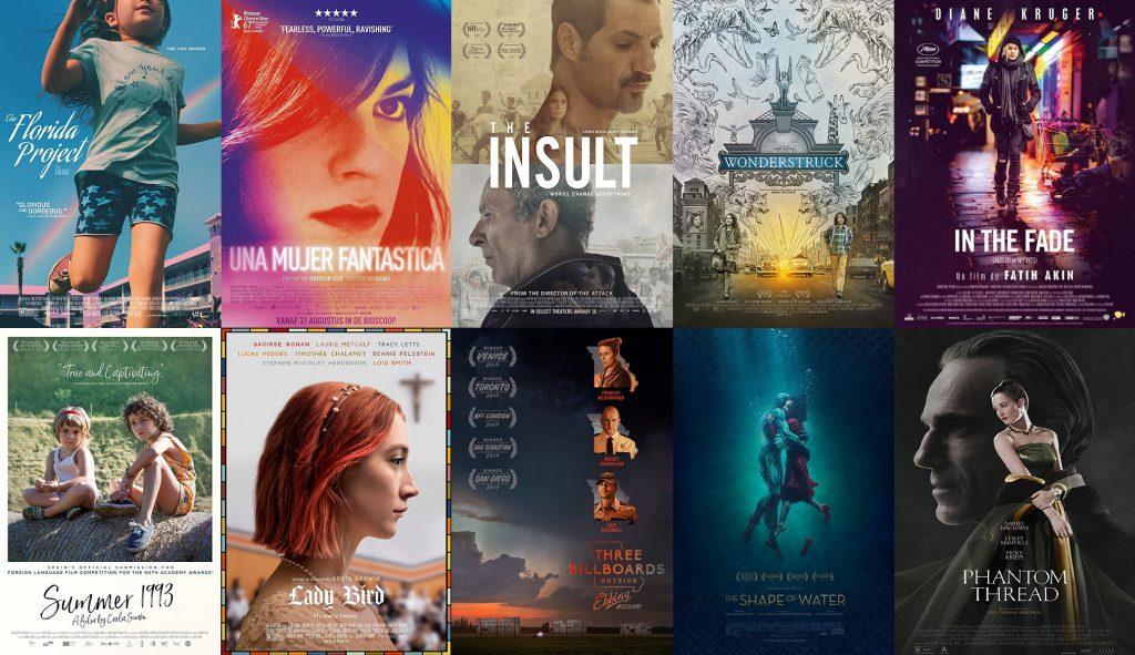 Películas de 2017 Que Vimos en el 2018