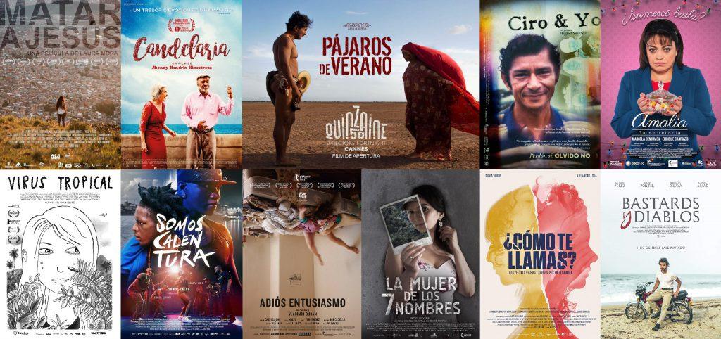 Películas Colombianas preferidas del 2018