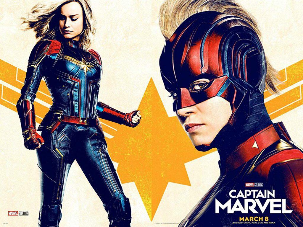 poster de capitana marvel
