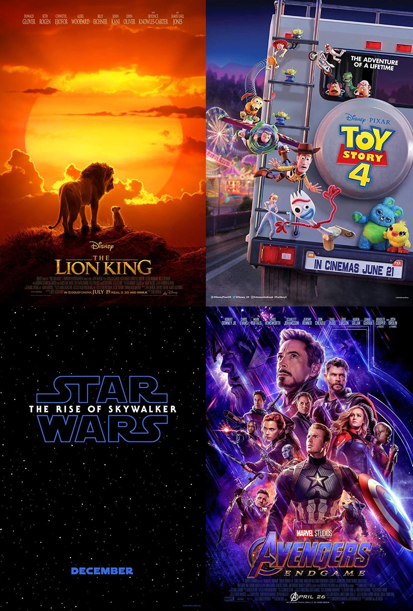 Posters Recuento Disney #2