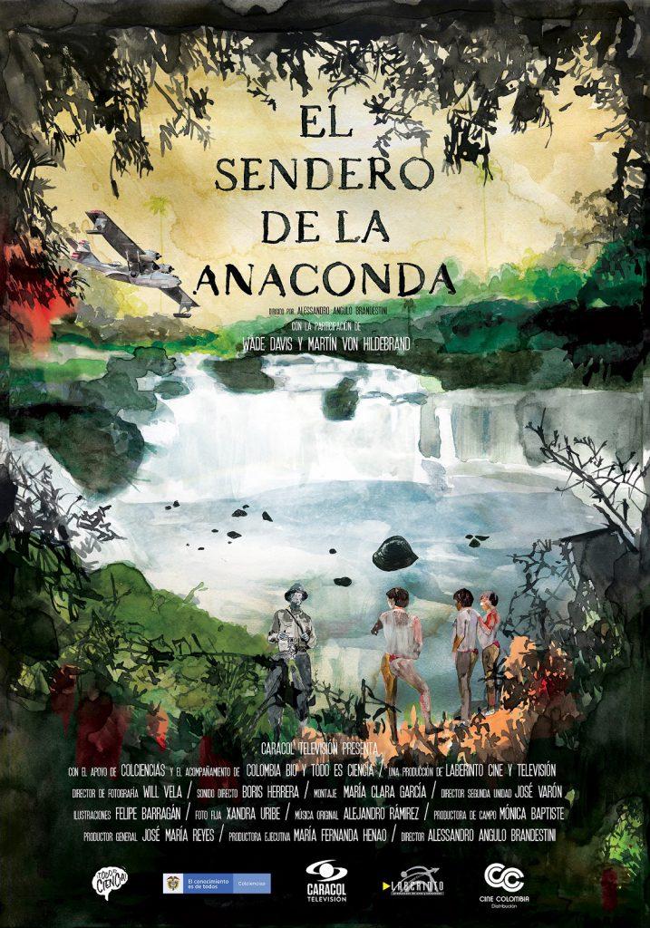 poster sendero de la anaconda
