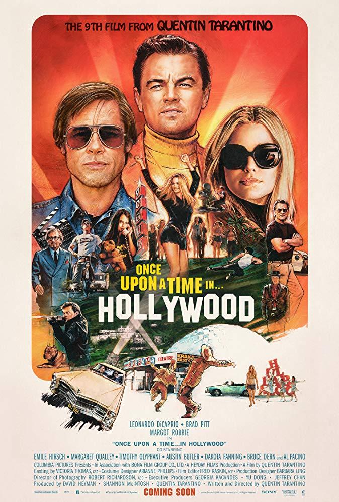 Poster Había Una Vez... En Hollywood