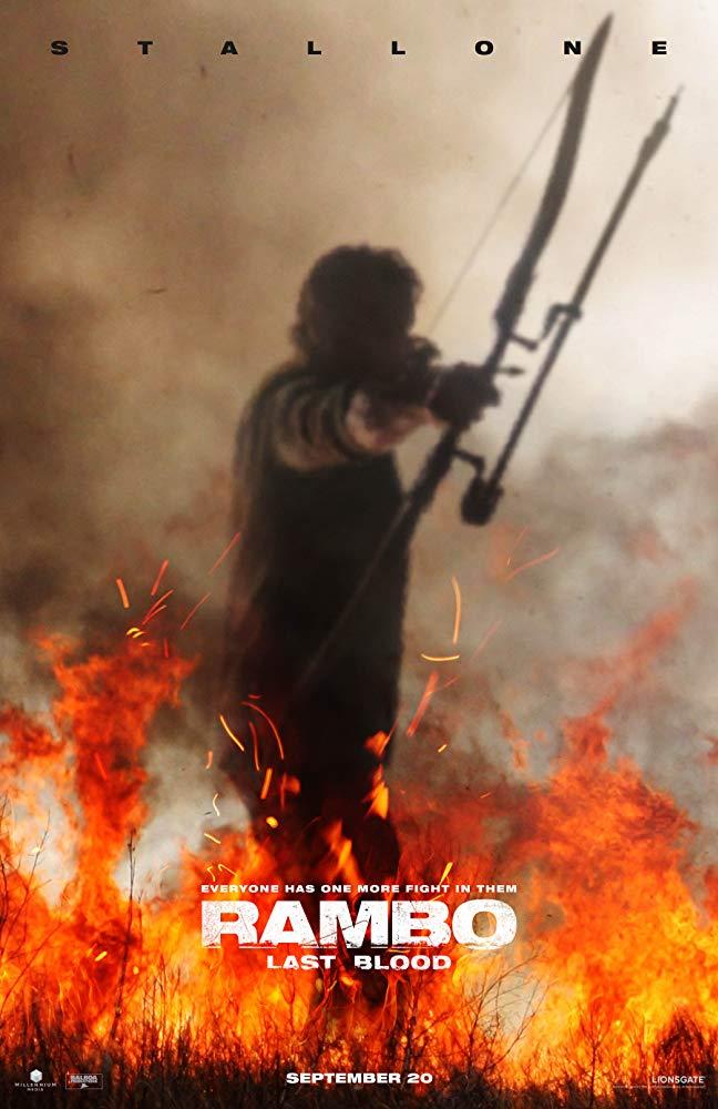 Rambo la última misión poster