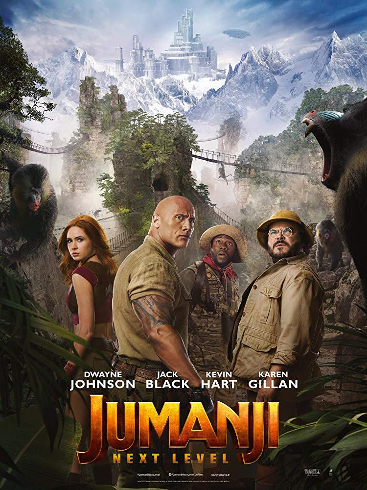 poster jumanji: El Siguiente Nivel